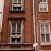 Brownstone Buildings in Soho