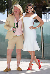 Kelly Brook  and Keith Lemon promote their new film Keith Lemon The Film at the Cannes Film Festival, Saturday 19th May 2012. Photo by: Stephen Lock / i-Images