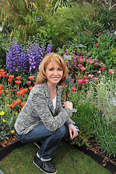 JANE ASHER at the 2011 RHS Chelsea Flower Show VIP & Press Day at the Royal Hospital Chelsea, London, on 23rd May 2011.