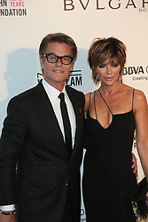 March 5, 2018 - Los Angeles, California, USA - 3/4/18.Harry Hamlin and Lisa Rinna at The 26th Annual Elton John AIDS Foundation''s Academy Awards Viewing Party in West Hollywood, CA. (Credit Image: © Starmax/Newscom via ZUMA Press)