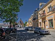 Rynek w Bieczu.<br /> Market in Biecz.