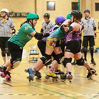 2020-02-29 North Wales Roller Derby vs Auld Reekie Roller Derby Reserves