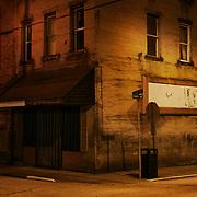 Street Corner. Montgomery, Fayette County, West Virginia.