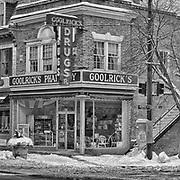 The historic Goolrick's Pharmacy in Fredericksburg, VA.