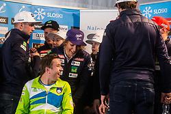 Ilka Stuhec and Jernej Slivnik at media day of Ski Association of Slovenia before new winter season 2018/19, on October 4, 2018 in Ski resort Pohorje, Maribor, Slovenia. Photo by Grega Valancic / Sportida