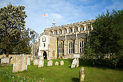 Church of Saint Mary, East Bergholt, Suffolk, England