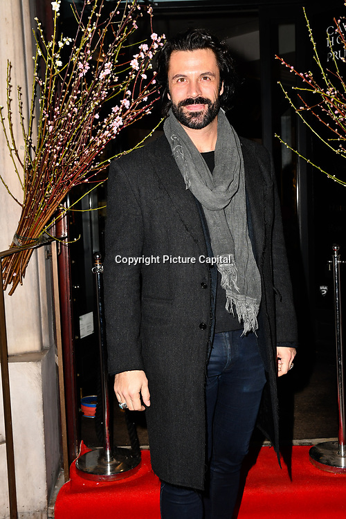 Christian Vit attend Travel bag brand hosts the launch of its exclusive luxury collection of handbags in collaboration with model and designer Anastasiia Masiutkina  D'Ambrosio on 26 March 2019, Caviar House & Prunier 161 Piccadilly, London, UK.