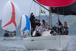 Day 2 Sailing, SCOTLAND<br /> <br /> Class 3, Final Call, Beneteau First 31.7, IRL1003<br /> <br /> The Scottish Series, hosted by the Clyde Cruising Club is an annual series of races for sailing yachts held each spring. Normally held in Loch Fyne the event moved to three Clyde locations due to current restrictions. <br /> <br /> Light winds did not deter the racing taking place at East Patch, Inverkip and off Largs over the bank holiday weekend 28-30 May. <br /> <br /> Image Credit : Marc Turner / CCC