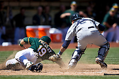 20150411 - Seattle Mariners at Oakland Athletics
