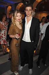 GEORGIE POWNALL and MAX IRONS at a preview of Garrard's new collections and celebrates a Kaleidoscope of Colour at Garrard, 24 Albemarle Street, London on 10th May 2007.<br />
