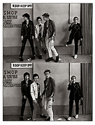 The Clash  London Westway Photosessions 1977