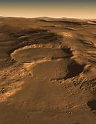 Radar Indicates Buried Glaciers on Mars