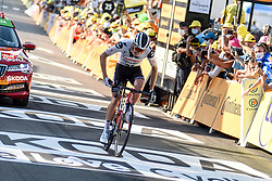 Stage winner, Soren KRAGH ANDERSEN (DEN) pictured at the end of stage 19 of Tour de France cycling race, over 166,5 kilometers (103.4 miles) with start in Bourg-en-Bresse and finish in Champagnole, France,Friday, September 18, 2020.//JEEPVIDON_1615001/2009191624/Credit:jeep.vidon/SIPA/2009191625 / Sportida