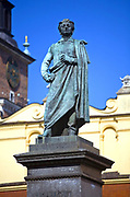 Monument to Adam Mickiewicz, Cracow, Poland
