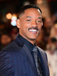 Will Smith attending the European premiere of Collateral Beauty, held at the Vue Leicester Square, London. PRESS ASSOCIATION Photo. Picture date: Monday 15th December, 2016. See PA Story SHOWBIZ Beauty. Photo credit should read: Ian West/PA Wire