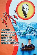 Propaganda poster, Vietnam, Southeast Asia