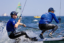 , Kieler Woche 22. - 30.06.2019, 49er - AUS 144 - James GROGAN - Charlie DIXON - Royal Brighton Yacht Club