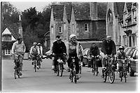 30th anniversary of Moulton Bikes in the presence of Dr Alexander Moulton CBE. September 1992