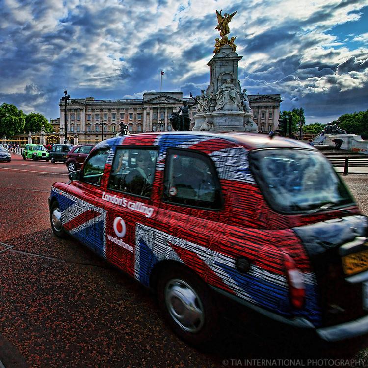 Vodafone Taxi @ Buckingham Palace