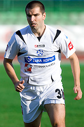 Frane Petricevic of Koper at the football match Interblock vs NK Luka Koper in 12th Round of Prva liga 2009 - 2010,  on October 03, 2009, in ZSD Ljubljana, Ljubljana, Slovenia. Luka Koper won 1:0.  (Photo by Vid Ponikvar / Sportida)