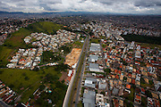 Belo Horizonte_MG, Brasil...Na foto vista panoramica da zona norte da capital, Belo Horizonte, Minas Gerais...In the photo the panoramic view of the northern part of the state capital, Belo Horizonte, Minas Gerais...Foto: LEO DRUMOND / NITRO