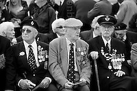 © London News Pictures. 27/05/2010. Veterans from the Dunkirk evacuation commemorate the 70th anniversary of Operation Dynamo one of the most extraordinary and heroic events in the second World war. Picture credit should read: MANU PALOMEQUE/London News Pictures.