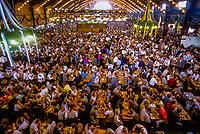 Augustinerbrau Festival Hall (beer tent), Oktoberfest, Munich, Bavaria, Germany