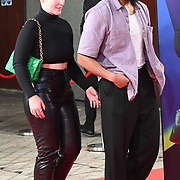 Sophie Jade Benco and Kevin Lettany arrives at the Paris, 13th District | BFI London Film Festival 2021 14 October 2021 Southbank Centre, Royal Festival Hall, London, UK.