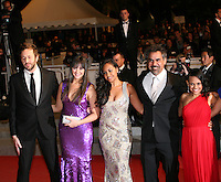 The cast of  the film The Sapphires attending the gala screening at the 65th Cannes Film Festival. Saturday 19th May 2012 in Cannes Film Festival, France.