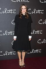 Colette Paris film Premiere - 10 Jan 2019