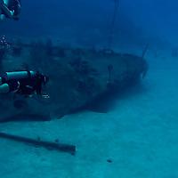 Survey of Bow, Oro Verde, Shipwreck, Grand Cayman