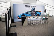 May 23, 2021. Lamborghini Super Trofeo, Circuit of the Americas: Hospitality suite for Lamborghini Squadra Corse North America