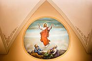 Artwork in the fellowship hall seen on Monday, April 5, 2021, at Immanuel Lutheran Church, Washington, Mo. LCMS Communications/Erik M. Lunsford