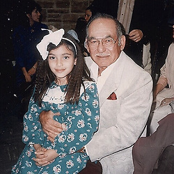 """Kim Kardashian releases a photo on Instagram with the following caption: """"Me \u0026 my papa Arthur Kardashian. \u2728 My mom would crimp my hair all the time! I still have the same crimper machine and used it just recently \u2728"""". Photo Credit: Instagram *** No USA Distribution *** For Editorial Use Only *** Not to be Published in Books or Photo Books ***  Please note: Fees charged by the agency are for the agency's services only, and do not, nor are they intended to, convey to the user any ownership of Copyright or License in the material. The agency does not claim any ownership including but not limited to Copyright or License in the attached material. By publishing this material you expressly agree to indemnify and to hold the agency and its directors, shareholders and employees harmless from any loss, claims, damages, demands, expenses (including legal fees), or any causes of action or allegation against the agency arising out of or connected in any way with publication of the material."""