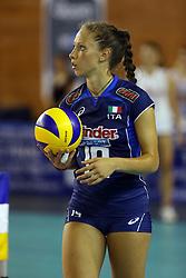 OFELIA MALINOV<br /> ITALIA - GIAPPONE<br /> AMICHEVOLE NAZIONALE ITALIANA FEMMINILE VOLLEY<br /> TREVIGLIO (BG) 17-07-2014<br /> FOTO GALBIATI - RUBIN