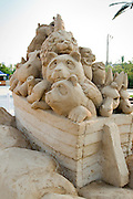 Noah's Ark Sand Sculpture