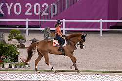 Bodenmuller Eveline, SUI, Violine de la Brasserie, 265<br /> Olympic Games Tokyo 2021<br /> © Hippo Foto - Dirk Caremans<br /> 26/07/2021no