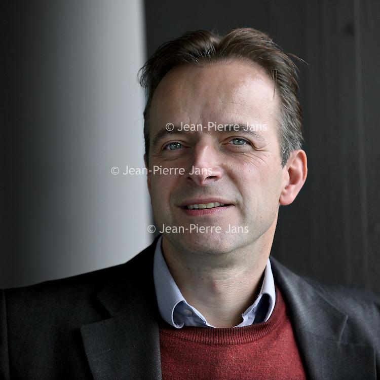 Nederland, Amsterdam , 7 juni 2011.. Mick Peet en Erik Varekamp de makers van De unieke satirische stripbiografie.van de Prins der Nederlanden.in acht delen..Op de foto Mick Peet..Foto:Jean-Pierre Jans