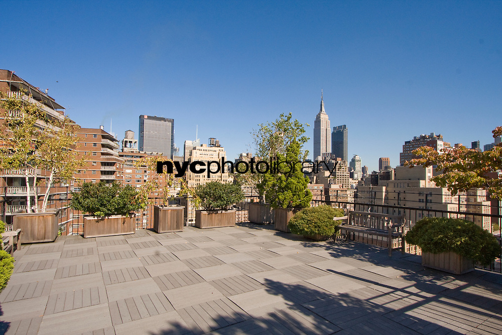 Roof Deck at 315 West 23rd Street