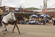 Montana Mule Days parade crowd, Drummond Montana