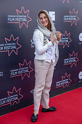 Judges photocall at Edinburgh International Film Festival<br /> <br /> Pictured: Simin Motamed-Arya, Actor (International Jury)