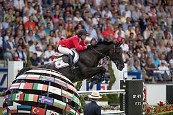 Madden Beezie, (USA), Cortes C<br /> Rolex Grand Prix<br /> CHIO Aachen 2016<br /> © Hippo Foto - Dirk Caremans<br /> 17/07/16