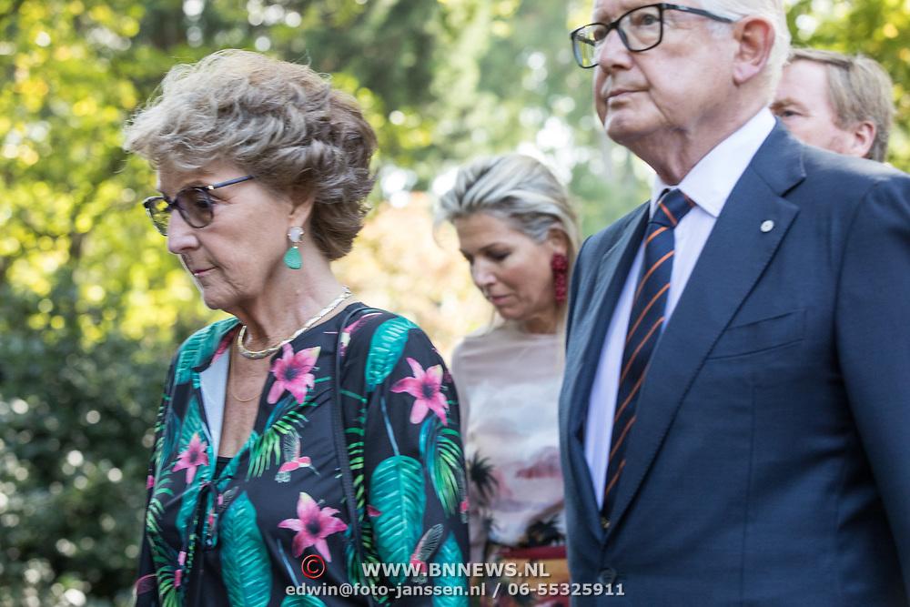 NLD/Den Haag/20190822 - Uitvaart Prinses Christina, Prinses Margriet en Meester Pieter van Vollenhoven