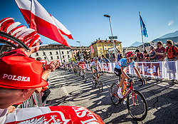 CRAS Steff of Belgium during the Men Under 23 Road Race 179.9km Race from Kufstein to Innsbruck 582m at the 91st UCI Road World Championships 2018 / RR / RWC / on September 28, 2018 in Innsbruck, Austria.  Photo by Vid Ponikvar / Sportida