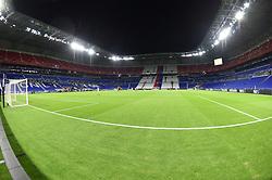 October 2, 2018 - Decines Charpieu - Parc Ol, France - Le stade a huis clos lors du match  (Credit Image: © Panoramic via ZUMA Press)