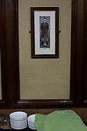A photograph on the wall in the boardroom at The Oval, Belfast, pictured before Glentoran hosted city-rivals Cliftonville in an NIFL Premiership match. Glentoran, formed in 1892, have been based at The Oval since their formation and are historically one of Northern Ireland's 'big two' football clubs. They had an unprecendentally bad start to the 2016-17 league campaign, but came from behind to win this fixture 2-1, watched by a crowd of 1872.