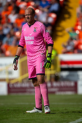 Inverness Caledonian Thistle's keeper Mark Ridgers Dundee United 4 v 1 Inverness Caledonian Thistle, first Scottish Championship game of season 2019-2020, played 3/8/2019 at Tannadice Park, Dundee.