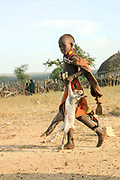 Young Hamer Tribe boy Photographed in Omo River Valley, Ethiopia, Africa