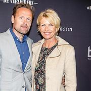 NLD/Amsterdam/20161010 -  Premiere De Verleiders: Slikken en Stikken, Anita Witzier en partner Michel Nillesen
