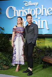 Hayley Atwell and Ewan McGregor attend the European premiere of Christopher Robin at the BFI Southbank in London.